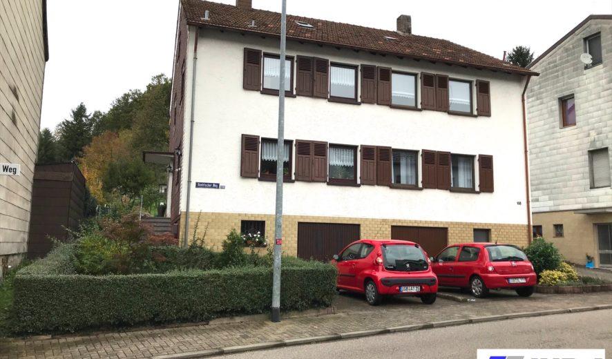 zu verkaufen: renovierte Doppelhaushälfte in St. Ingbert